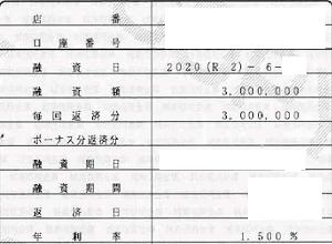 202006城南信金300万